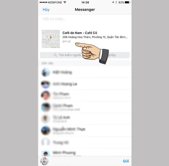 Hướng dẫn chia sẻ vị trí trên iPhone chạy iOS 10