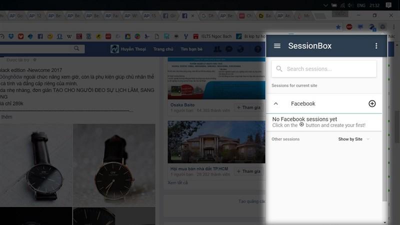 Hướng dẫn dùng nhiều Facebook trên một trình duyệt 3