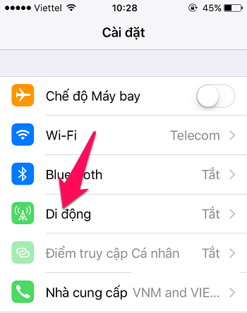 Sửa lỗi sóng yếu trên iPhone-2