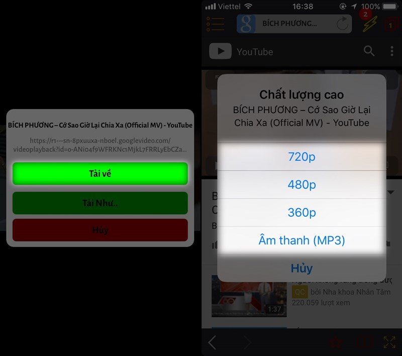 Hướng dẫn tải video từ Youtube về iPhone cực hay-4