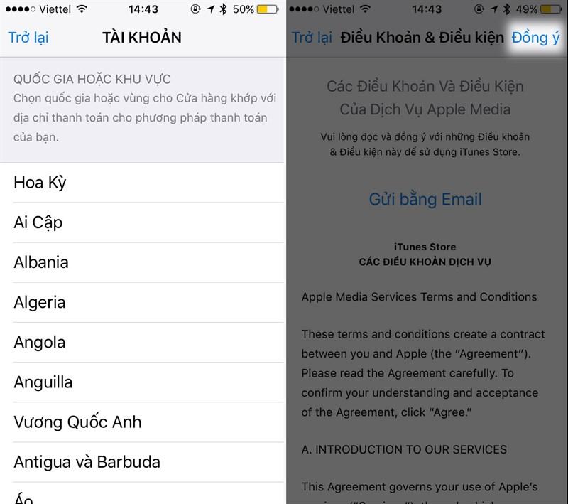Mẹo đổi quốc gia trên Appstore để tải ứng dụng miễn phí-4