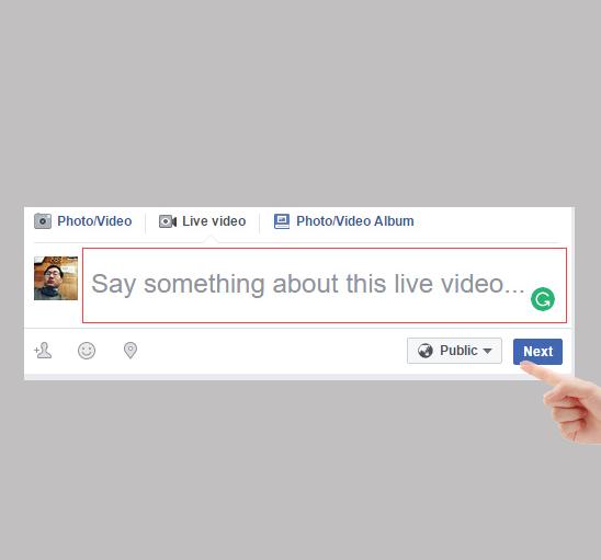 Phát trực tiếp live stream trên Facebook bằng máy tính-3