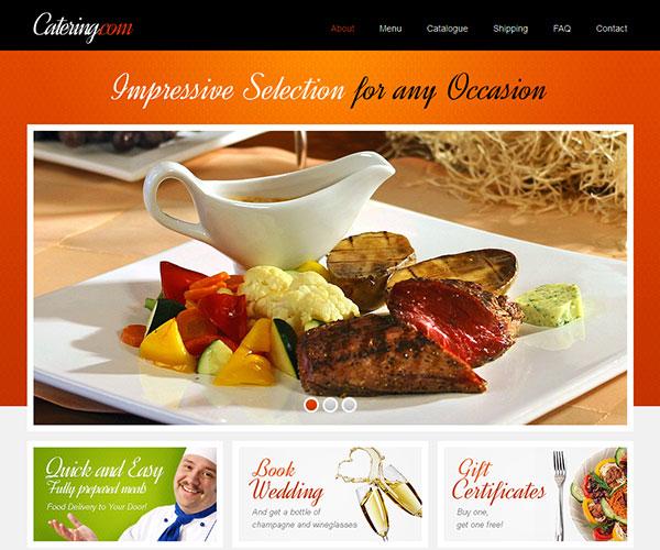 Thiết kế web nhà hàng 1