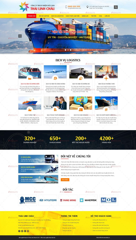 Thiết kế web dịch vụ