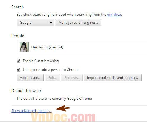 Cách chặn quảng cáo trên Google Chorme 2