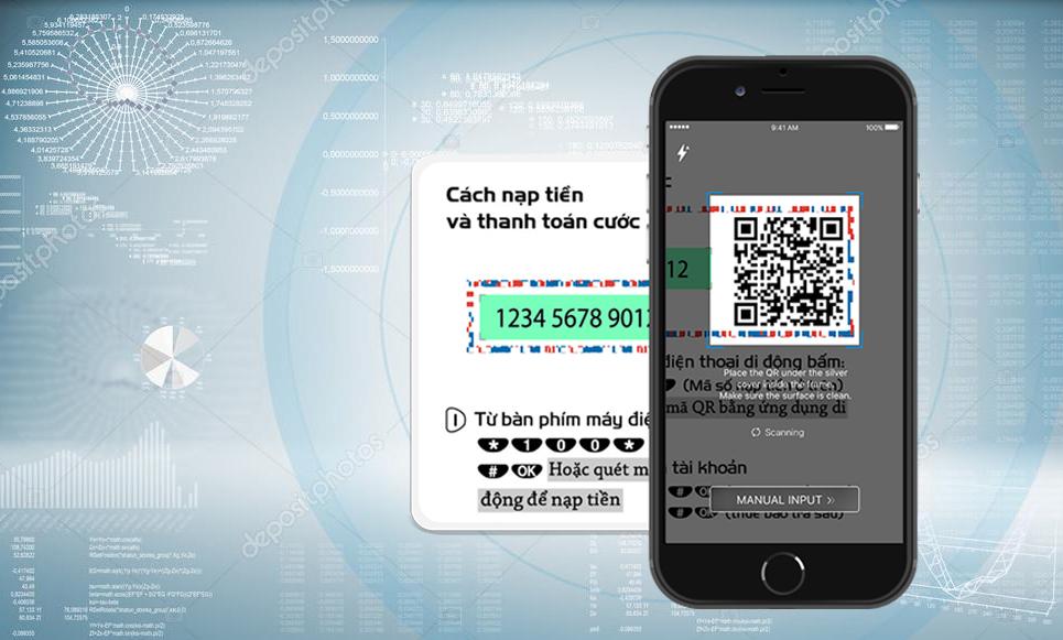 Hướng dẫn nạp card điện thoại bằng QR Code-3
