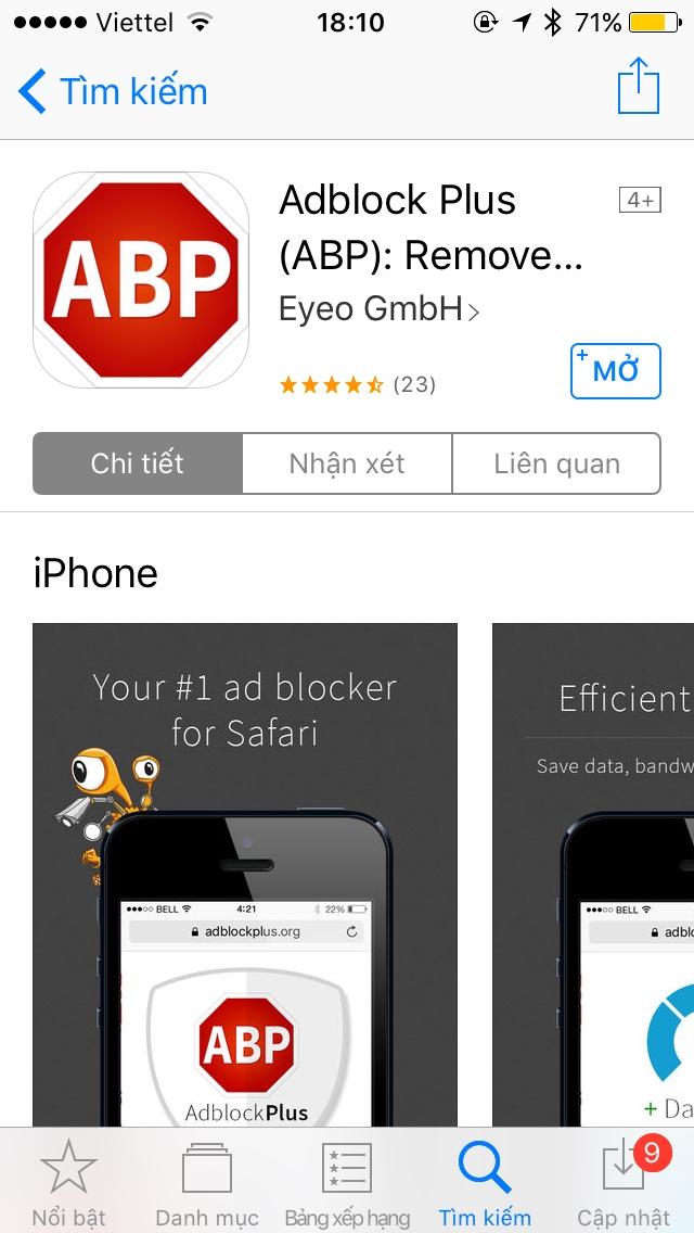 Lướt web thỏa mái trên iPhone không lo quảng cáo-2