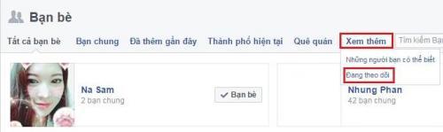 """Cách để biết """"người đó đang theo dõi ai"""" trên Facebook 2"""