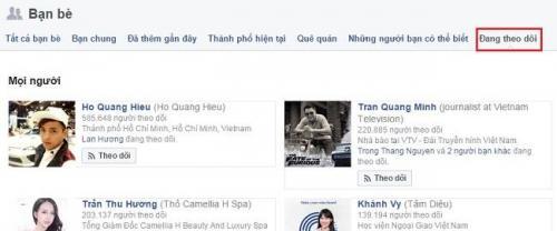 """Cách để biết """"người đó đang theo dõi ai"""" trên Facebook 3"""