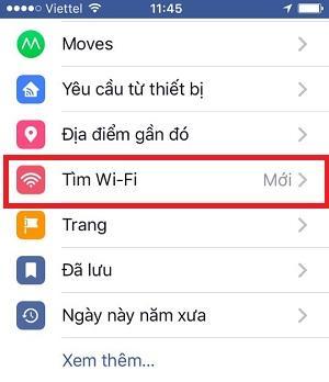 Cách tìm wifi miễn phí – tính năng mới tuyệt vời của Facebook 2