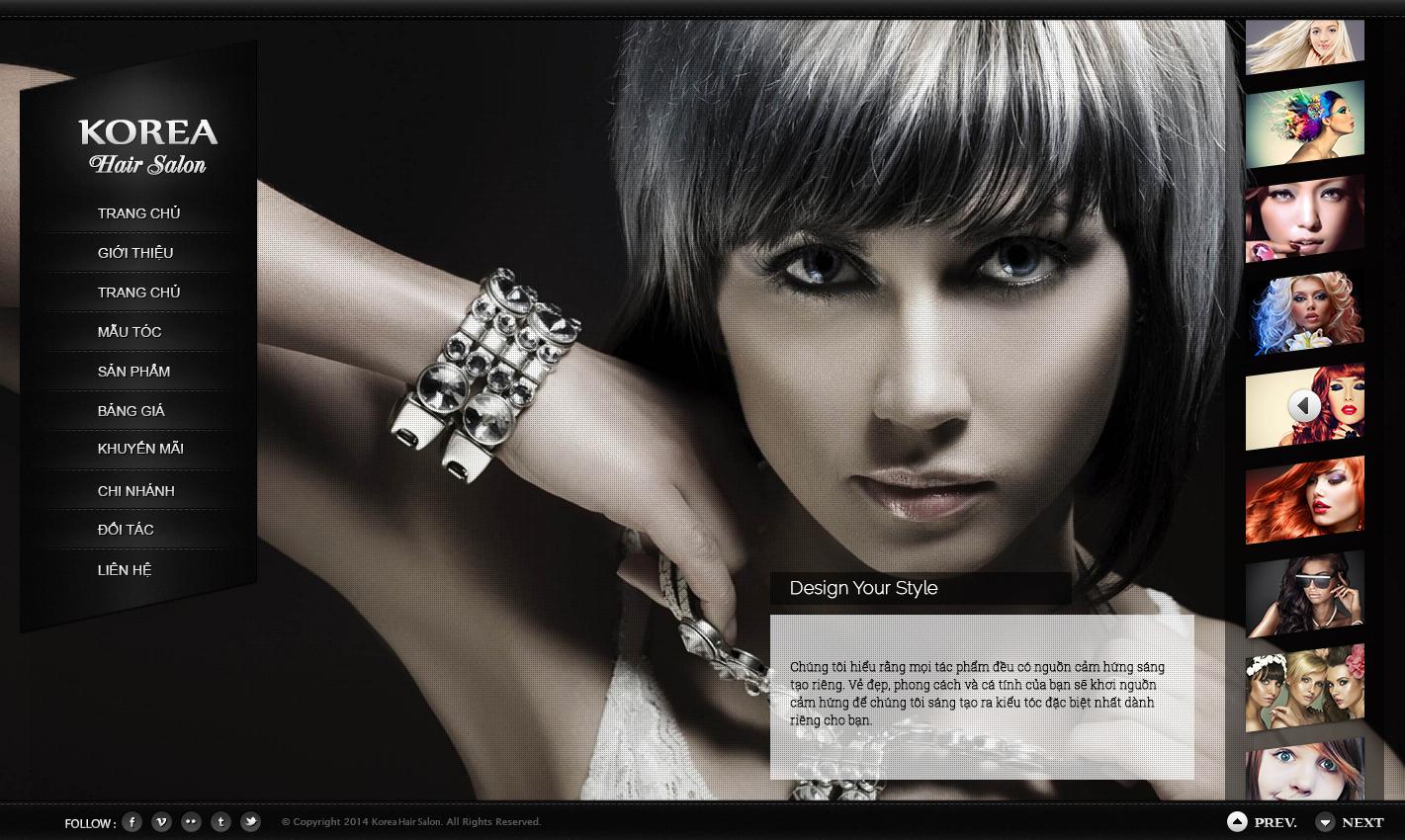 Thiết kế website salon tóc phù hợp với đối tượng nào?