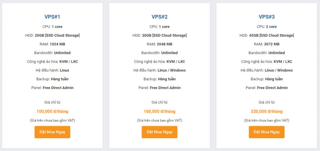 Hướng dẫn đăng ký VPS 1