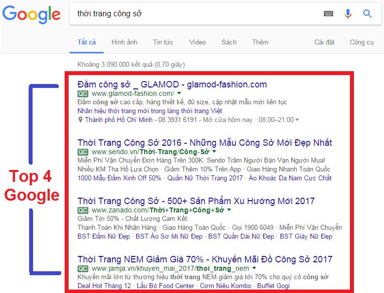 chạy quảng cáo Google tại Đà Nẵng