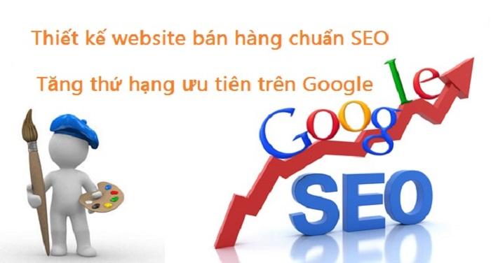 lap trang web ban hang chuan seo