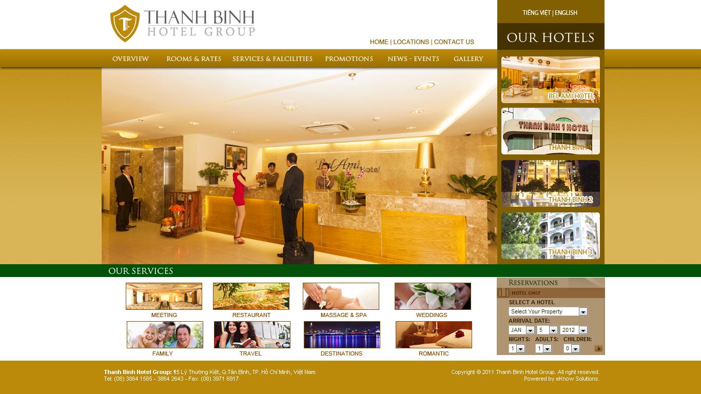 Bí quyết để xây dựng nội dung hấp dẫn với website khách sạn