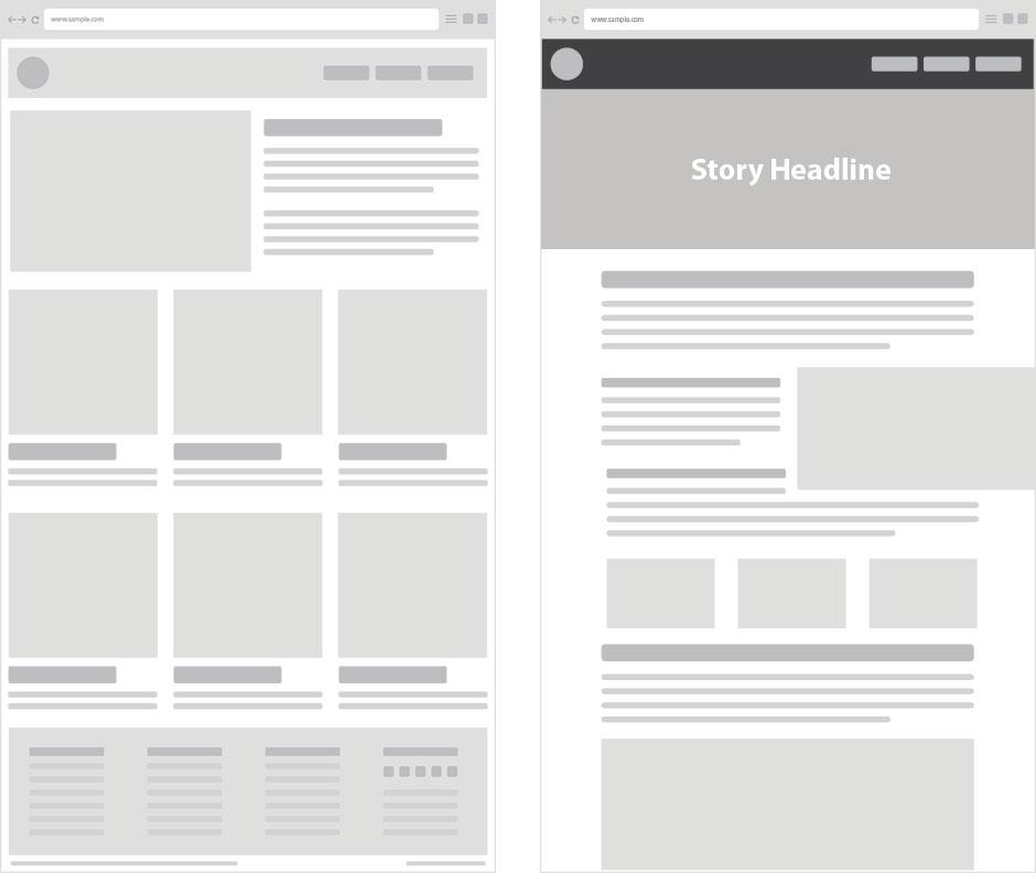 Thiết kế layout website bằng Excel – Ý tưởng tuyệt vời2