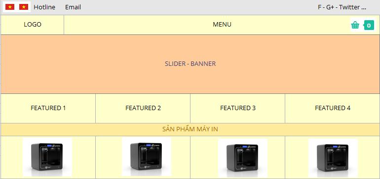 Thiết kế layout website bằng Excel – Ý tưởng tuyệt vời 4