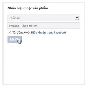 Cách tạo trang web bán hàng trên facebook 3
