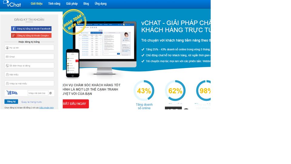 Cách tích hợp chat online vào website