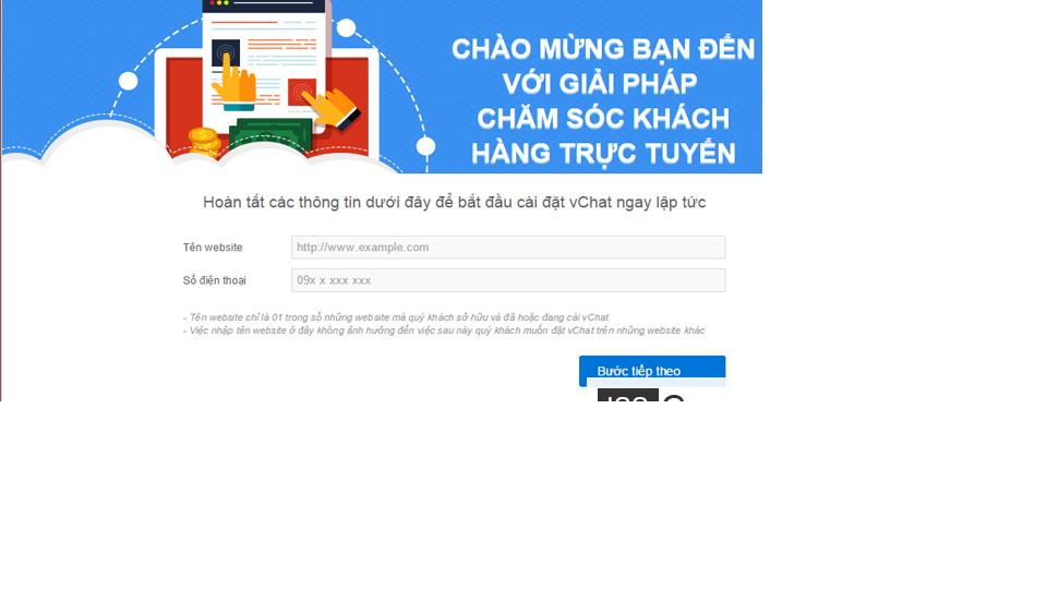 Cách tích hợp chat online vào website 2