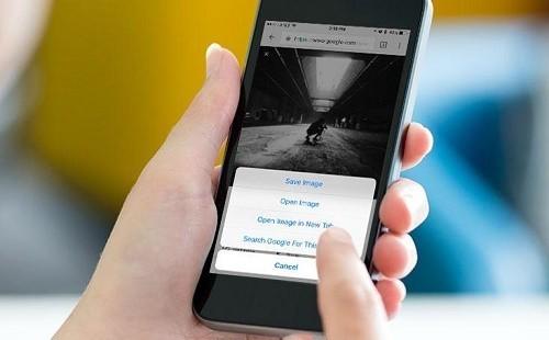 Cách tìm kiếm bằng hình ảnh trên điện thoại 1