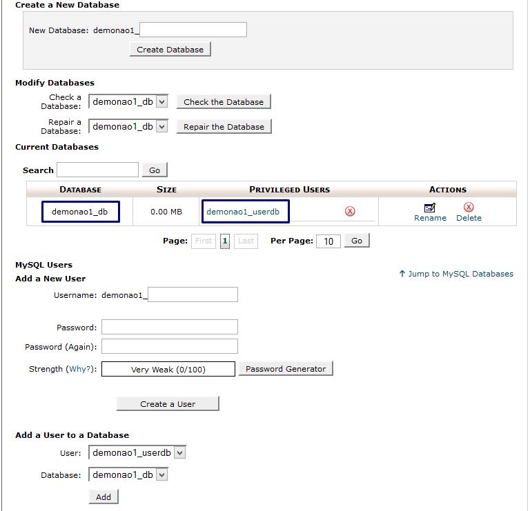 Hướng dẫn cài đặt WordPress lên hosting trên cPanel  5