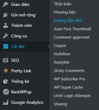 Việc cần làm sau khi cài đặt WordPress 4