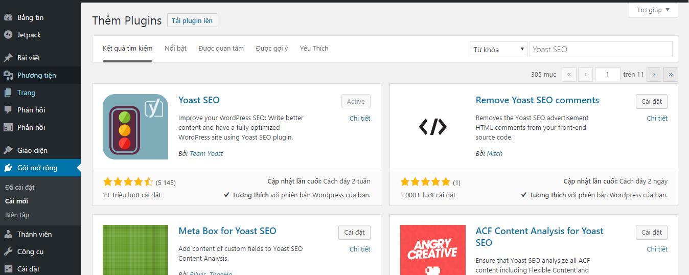 Việc cần làm sau khi cài đặt WordPress 7
