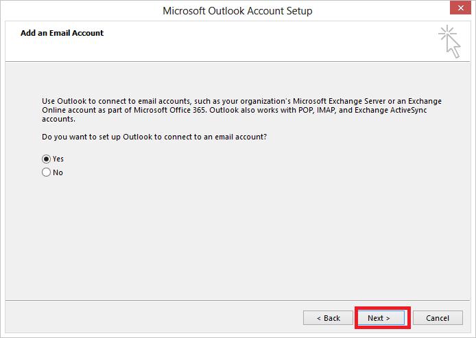 Hướng dẫn cách cài đặt Outlook 2013 2