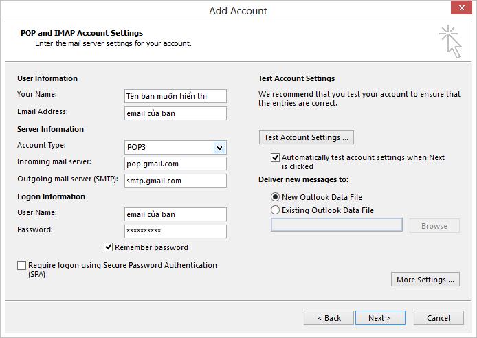 Hướng dẫn cách cài đặt Outlook 2013 5