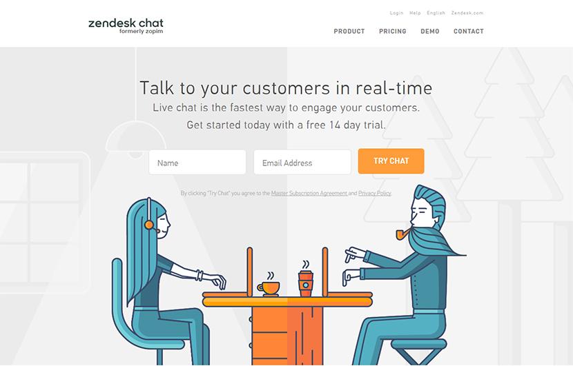 4 Phần mềm chat trực tuyến trên web tốt nhất 4