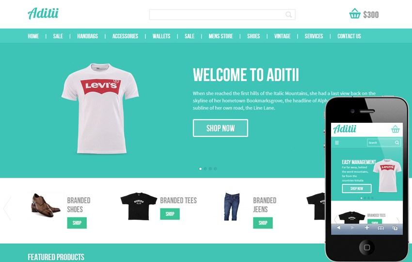 Template website bán hàng trực tuyến
