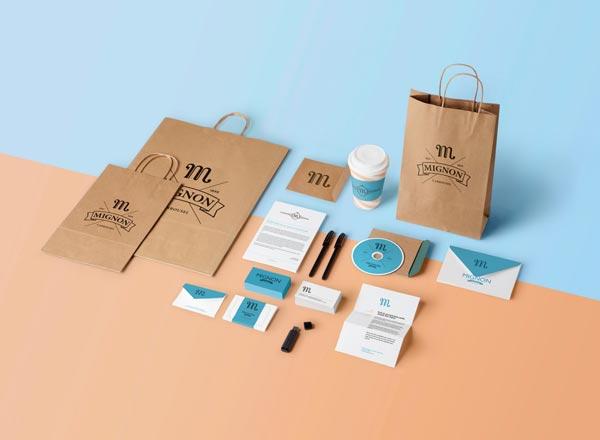 Chuyên thiết kế bộ nhận diện thương hiệu chuyên nghiệp