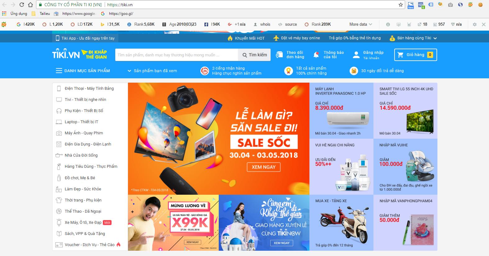 Top 3 các trang bán hàng online uy tín và nổi tiếng ở Việt Nam 2