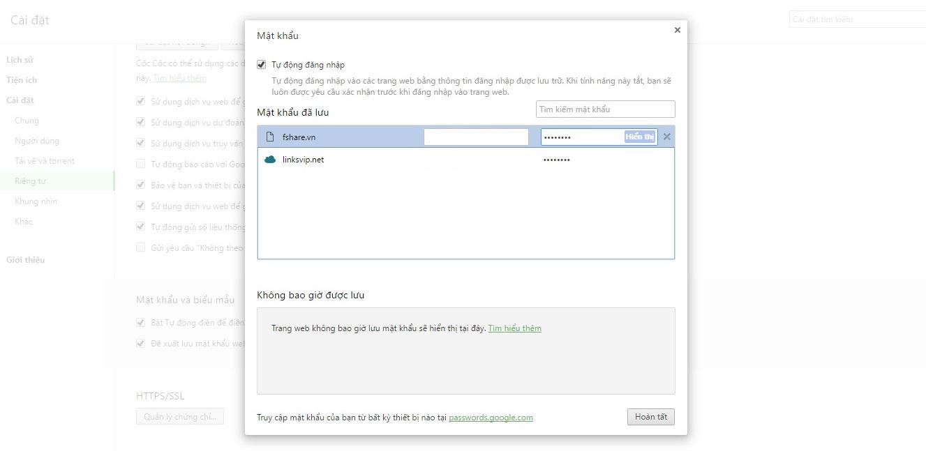 Cách xem mật khẩu facebook khi lỡ quên 4
