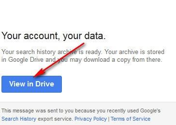 Hướng dẫn cách xem lịch sử tìm kiếm trên google 6