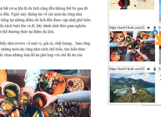 Cách tải nhanh hình ảnh trên trang web với chrome 5