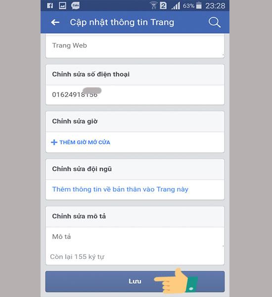 Cách đổi tên Fanpage trên Facebook 7