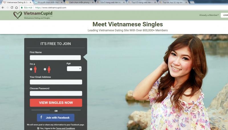 Top 5 trang web hẹn hò với người nước ngoài tốt nhất 2