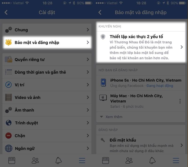 Làm gì để bảo vệ tài khoản Facebook an toàn hơn? 5